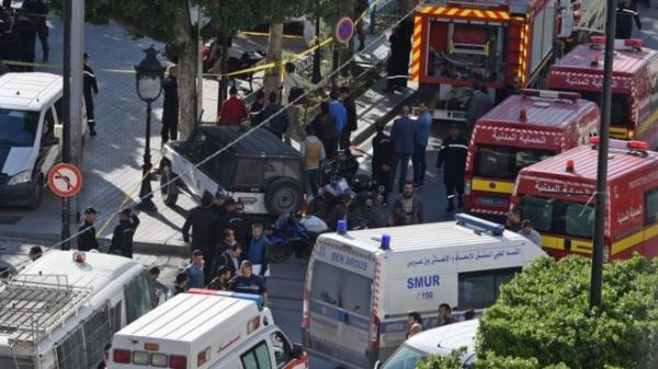 Взрыв смертницы в центре Туниса: есть пострадавшие