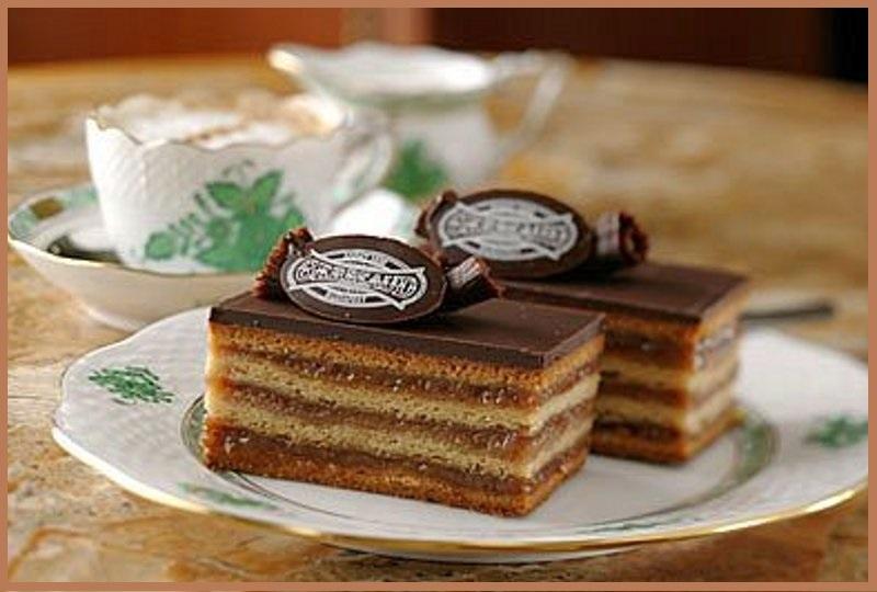 К чаю просится само торт-пирожное Жербо!
