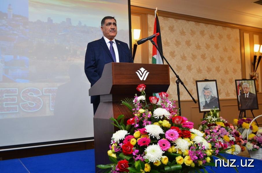Палестина в Ташкенте отметила 30-ю годовщину принятия Декларации о Независимости