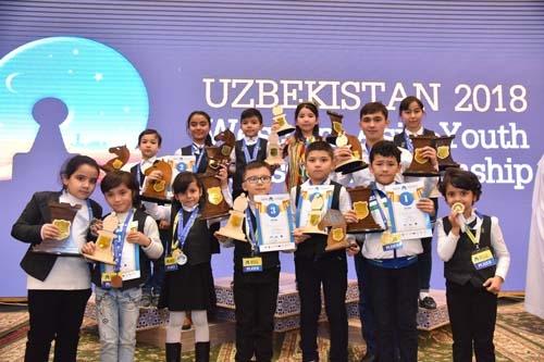 Шахматисты-юниоры завоевали 91 медаль и вывели Узбекистан на первое место в чемпионате Западной Азии