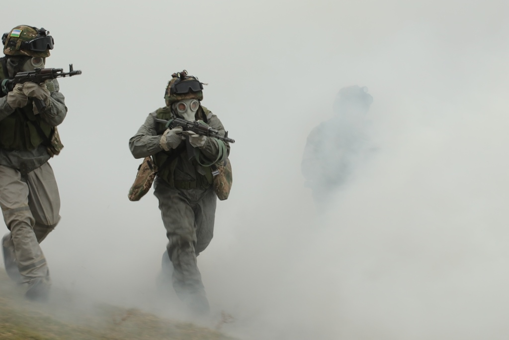 Второй этап масштабных учений – воинские подразделения переброшены в пункты выполнения учебно-боевых задач (фото)