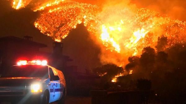 Число погибших в результате лесных пожаров в Калифорнии возросло до 42