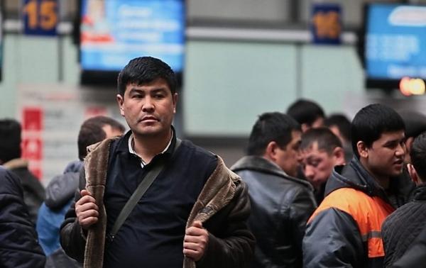 Больше всего трудовых мигрантов въезжает в Россию из Узбекистана