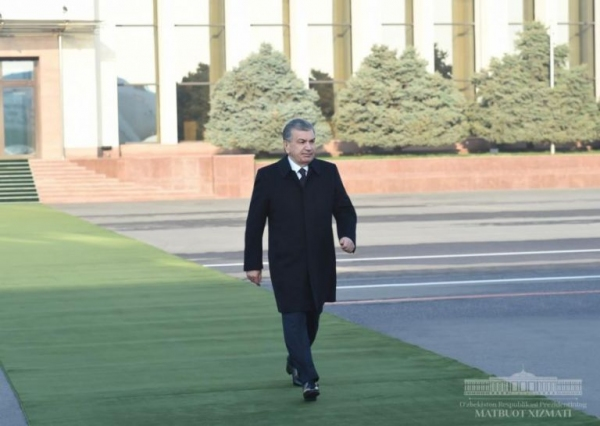 Президент Қорақалпоғистонга жўнаб кетди