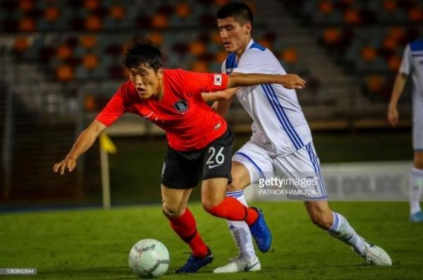 Сборная Южной Кореи разгромила узбекистанских футболистов