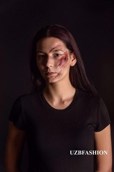 Фото против насилия: известные девушки Ташкента приняли участие в специальном проекте (фото)