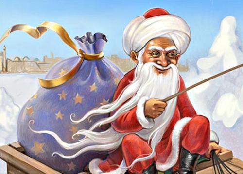 Чей Дед Мороз самый популярный в СНГ? Корбобо в пятерке лидеров