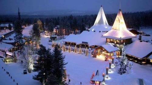Новогодние каникулы в Лапландии