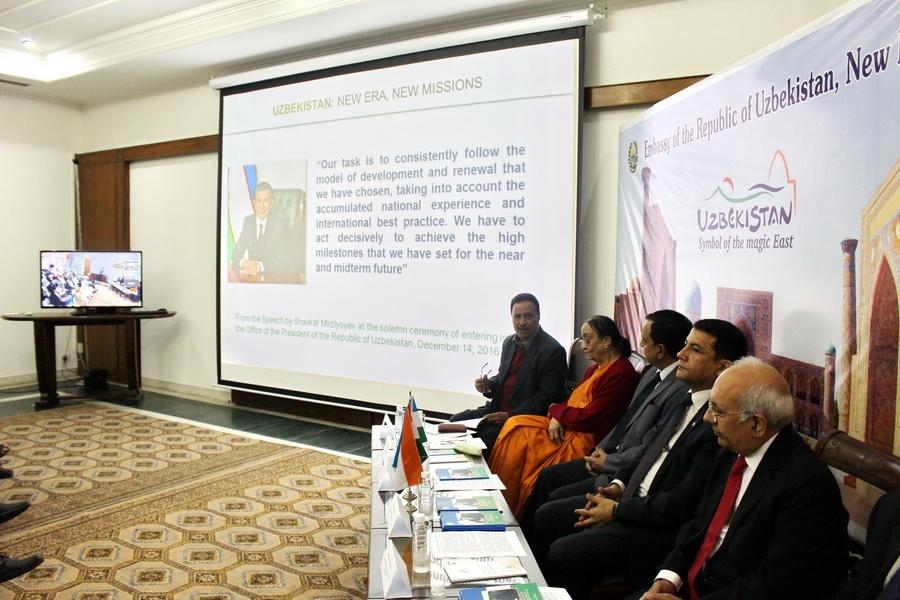 Книга о реформах в Узбекистане вышла в Дели на хинди