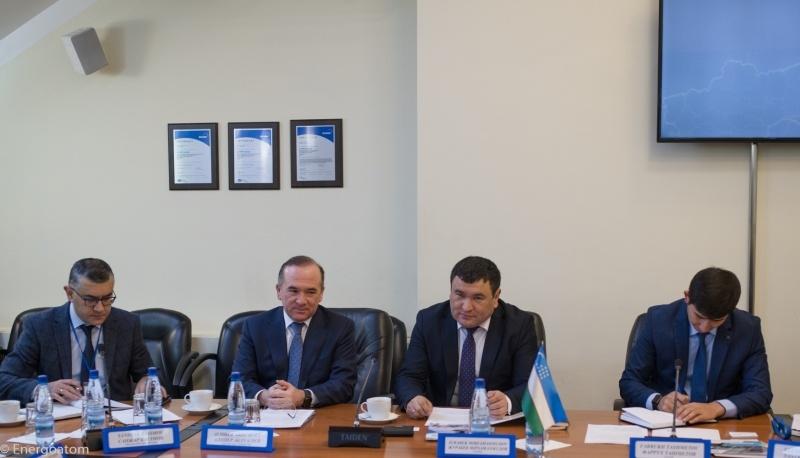«УЗАТОМ» изучает опыт Украины в атомной энергетике