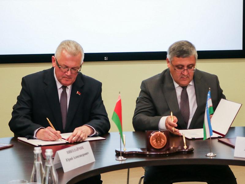 В Минске откроется совместный Узбекско-белорусский институт прикладных специальностей