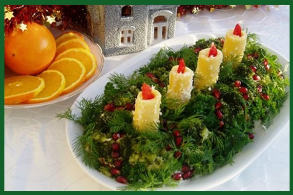 Что мы купим на зарплату к новогоднему салату?