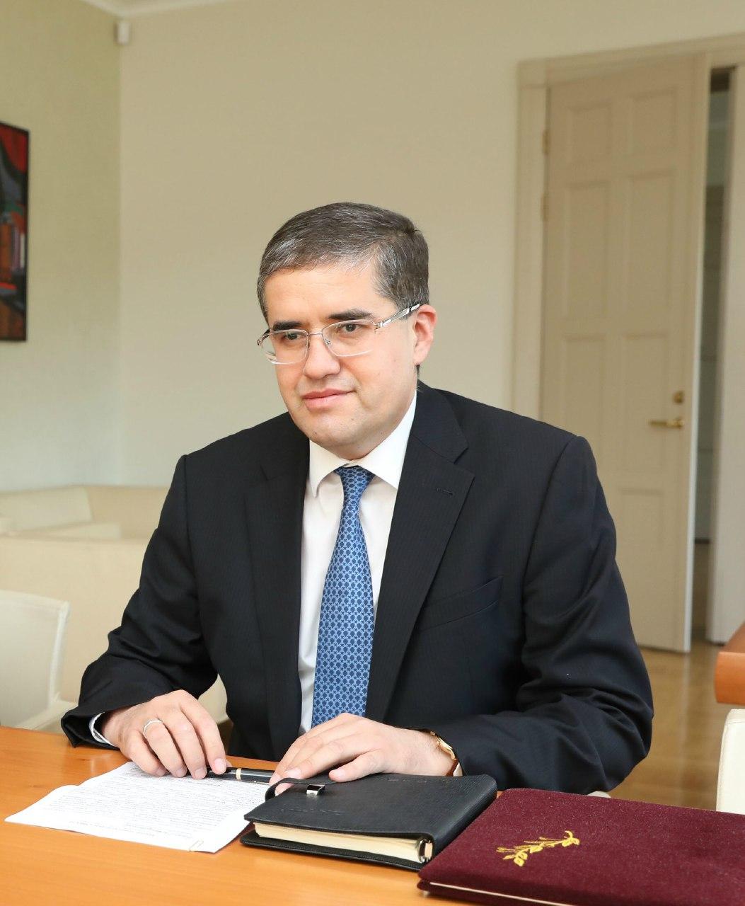 Бывший посол Узбекистана в Латвии назначен замминистра внешней торговли Узбекистана