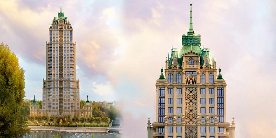 В Ташкенте построят 27-этажный небоскреб в стиле сталинских высоток