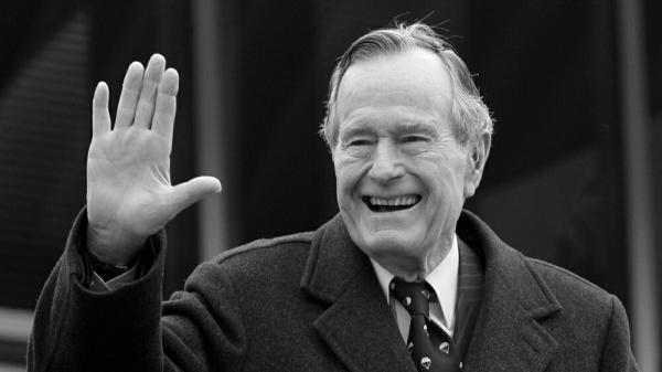 В возврасте 94 лет умер Джордж Буш — старший