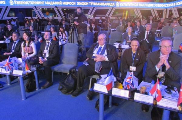В Ташкенте состоялся международный форум, посвященный культурному наследию Узбекистана