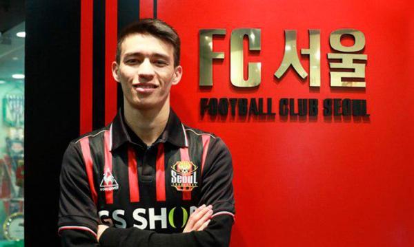 Полузащитник национальной футбольной сборной Икром Алибаев перешел в южнокорейский клуб «Сеул»