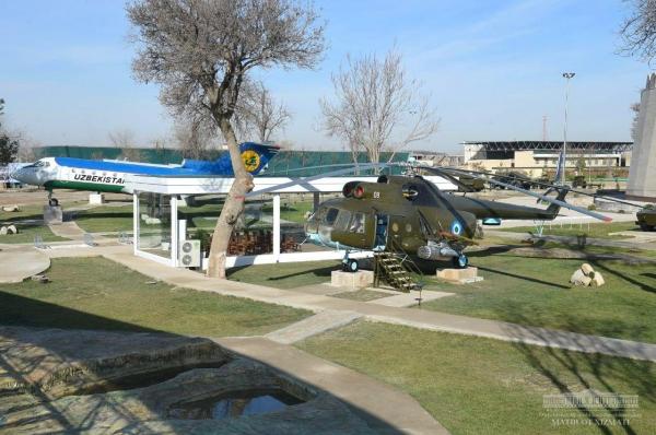 Память о бойцах Второй Мировой: Президент осмотрел парк «Ватанпарварлар», открытый в Карши