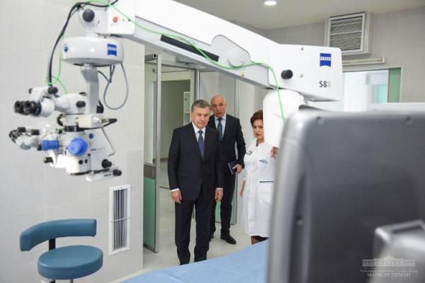 Президент инновацион клиникани кўздан кечирди