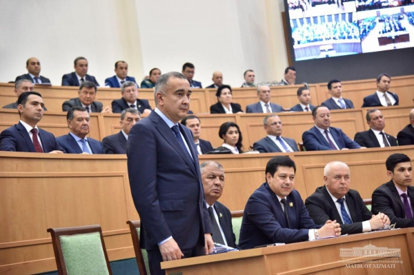 Депутаты утвердили назначение хокима Ташкента