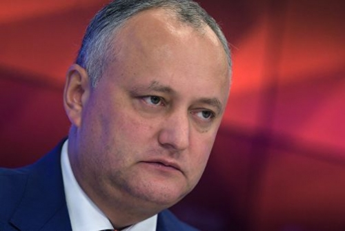 Игорь Додон отстранен отдолжностипрезидента Молдавии