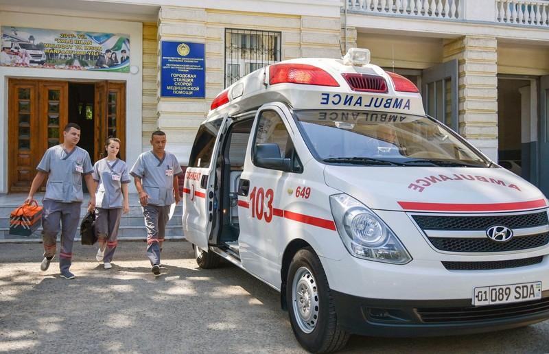 Руководство станции скорой медицинской помощи Ташкента: в крови врача алкоголь не обнаружен