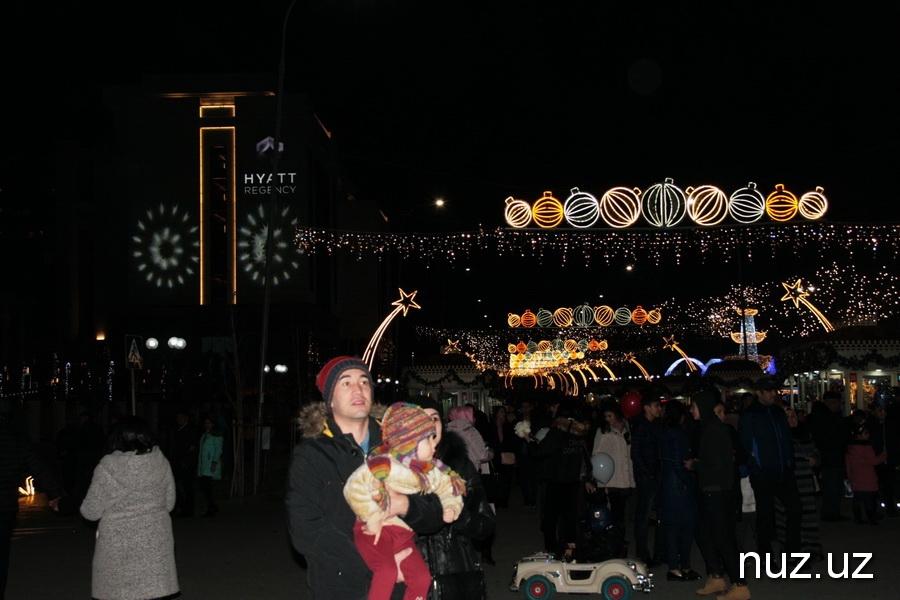 Новогодние каникулы на главной ёлке страны