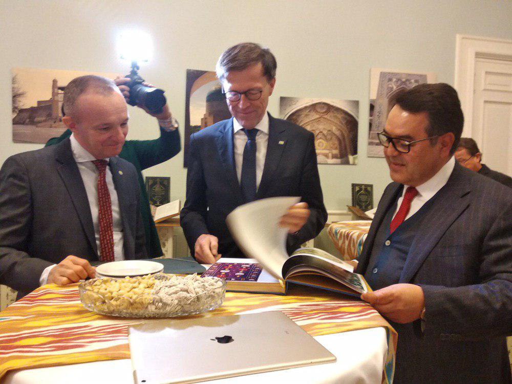 Немецкой общественности представляют культурное наследие Узбекистана в собраниях Германии