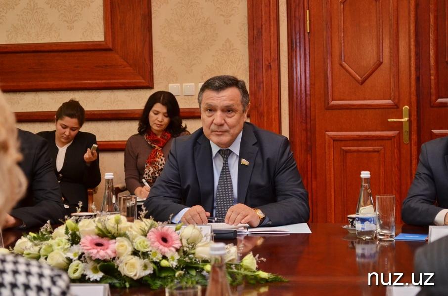 Спикер Законодательной палаты Олий Мажлиса встретился с российским омбудсманом