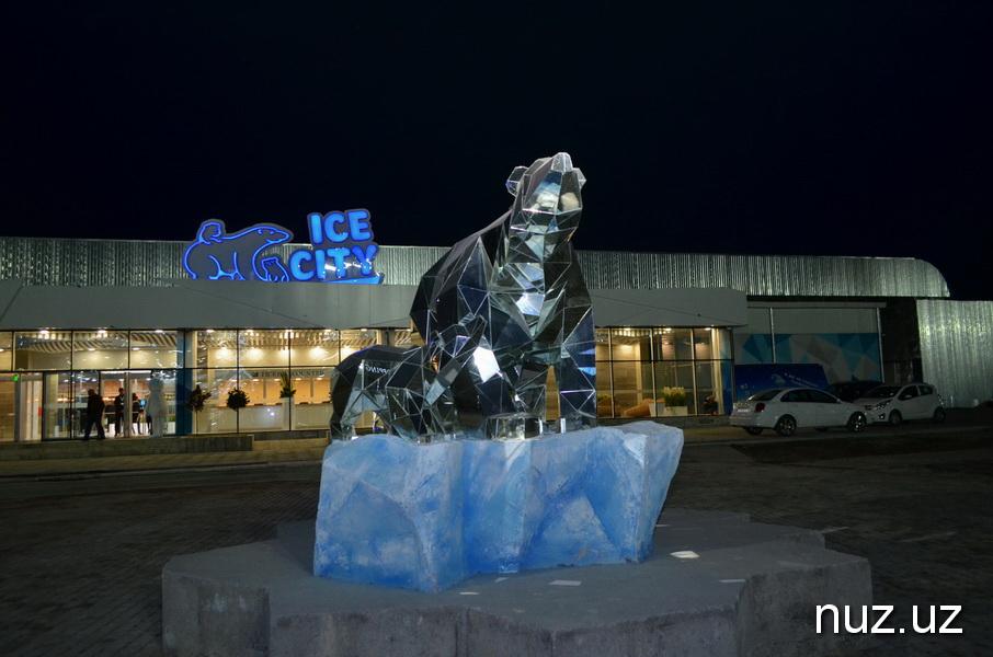 В Ташкенте вырос настоящий «Ледовый городок»