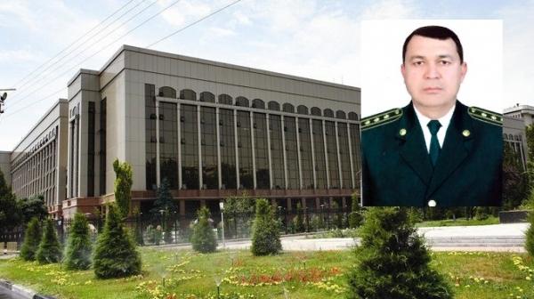 Спустя полгода назначен новый начальник Главного управления ППС МВД Узбекистана