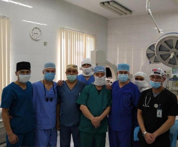 В Ташкенте впервые провели лапароскопические операции у детей с заболеваниями мочеполовой системы