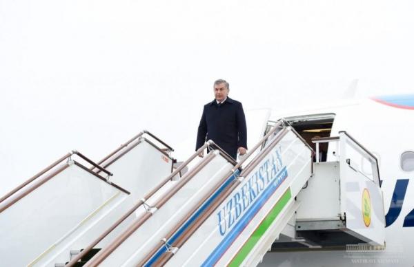 Президент прибыл в Самарканд