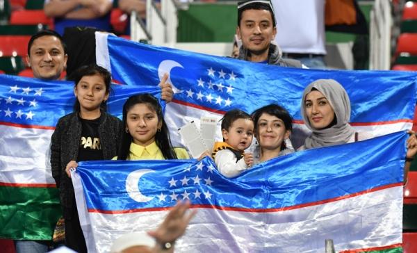 Футбольная сборная досрочно вышла в следующий раунд Кубка Азии, разгромив команду Туркменистана