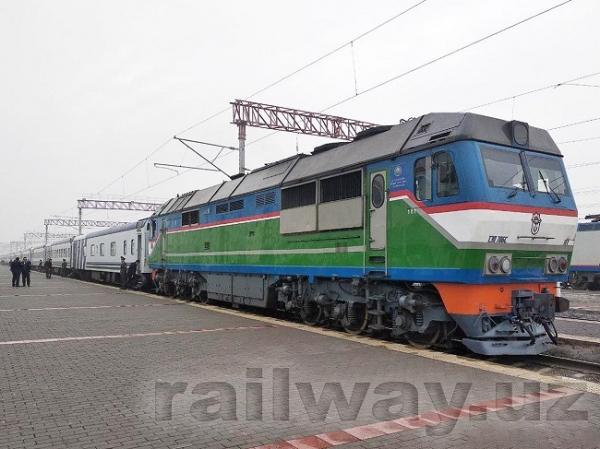 Бухару и Хиву связал прямой железнодорожный рейс