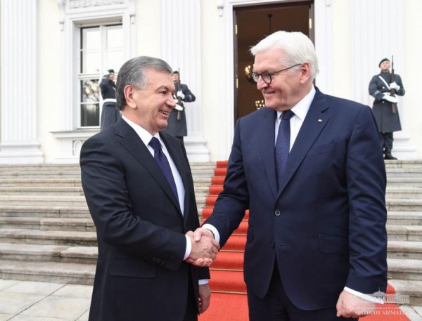 Визит Франка-Вальтера Штайнмайера в Узбекистан может состояться весной этого года