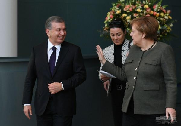 Переговоры с Ангелой Меркель: афганская проблема, рост торгового оборота и девять подписанных соглашений