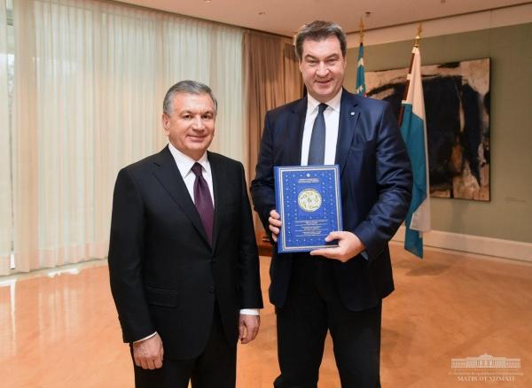 Президент обсудил с Премьер-министром Баварии перспективы будущих совместных проектов