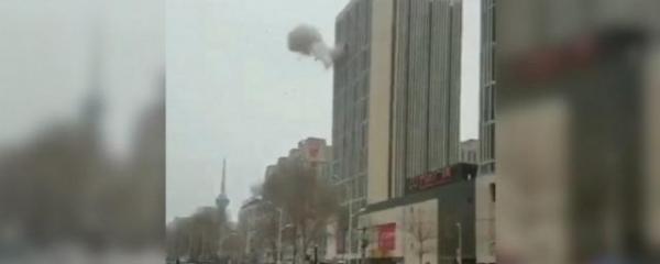 В китайском городе Чанчунь прогремела серия взрывов
