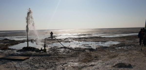 В юго-западной части Арала на острове Возрождения найдена пресная вода