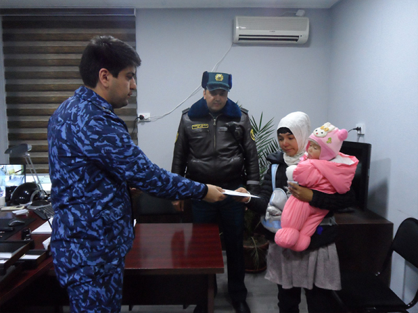 Ташкентская милиция инициировала сбор помощи для 7-месячной Маржоны, находящейся  в онкодиспансере