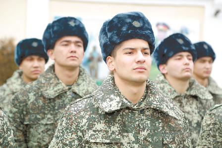 В Узбекистане планируют перенести призыв в армию на весну