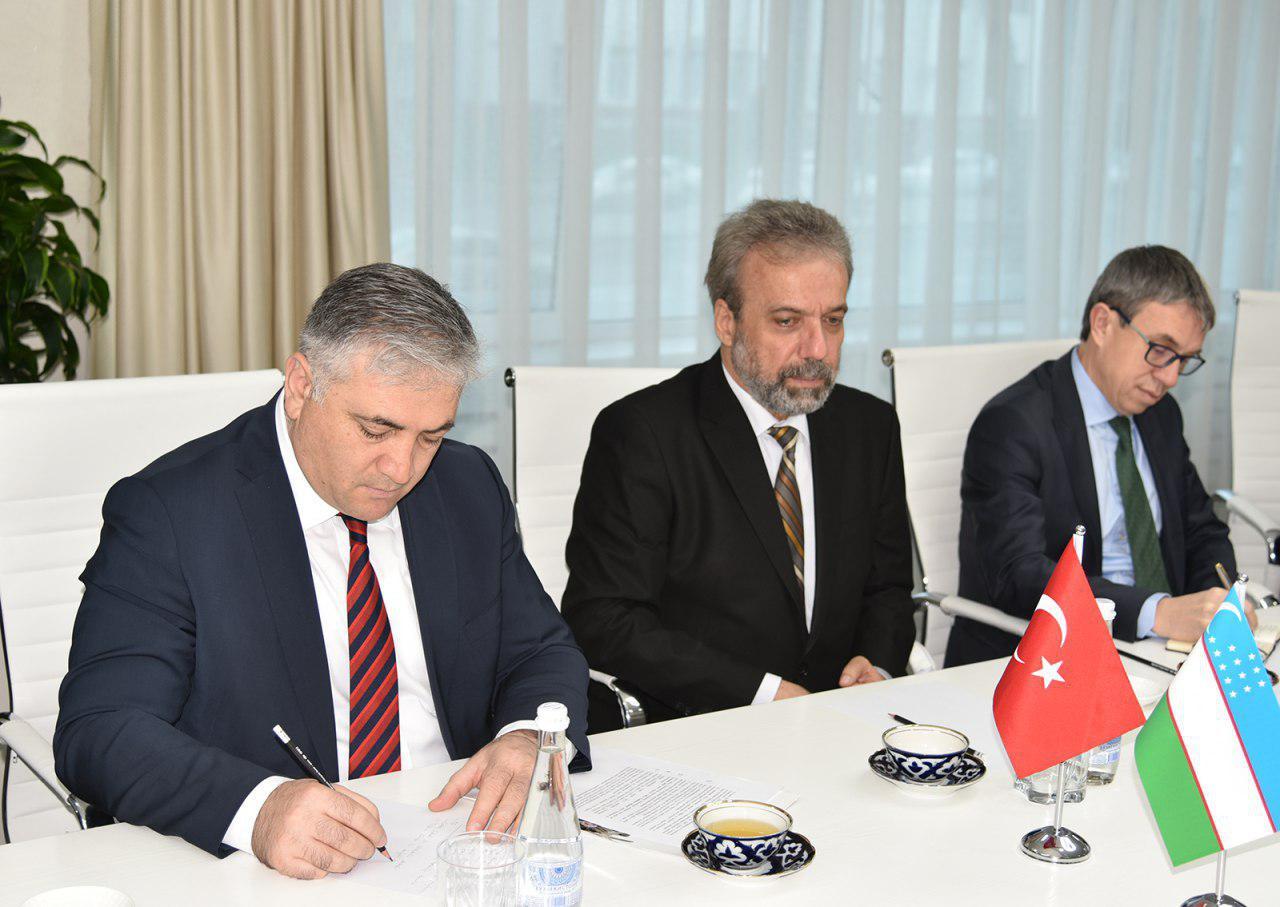 Руководители энергетических ведомств Узбекистана и Турции обсудили вопросы взаимного сотрудничества