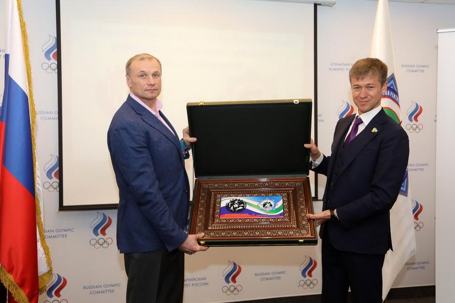 Федерации современного пятиборья Узбекистана и России подписали Меморандум о сотрудничестве