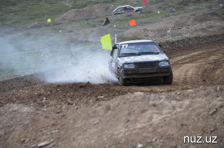 В Джизаке завершился первый этап Кубка Узбекистана по автокроссу