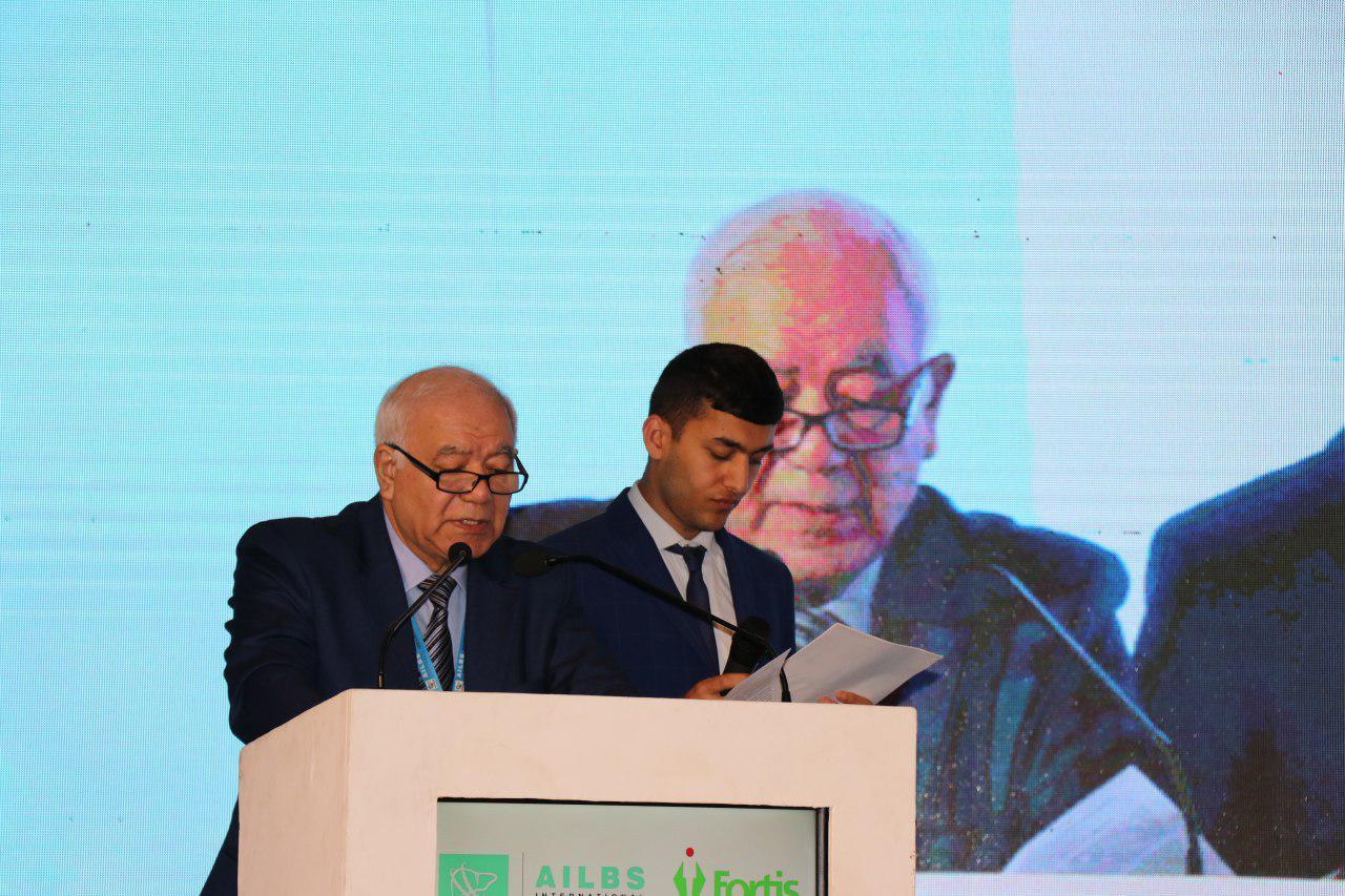 Делегация Узбекистана приняла участие в Международной конференции по трансплантации печени в Индии