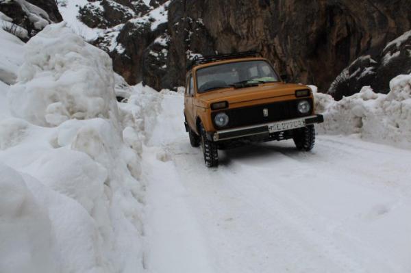 Село Кул в Кашкадарьинской области из-за снегопада было отрезано от мира на десять дней (фото)