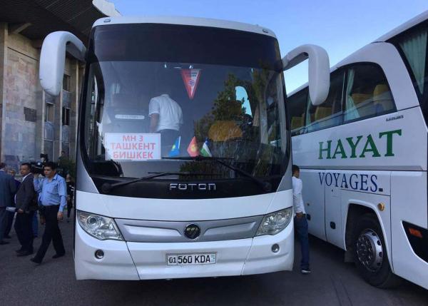 """В Узбекистане официально прокомментировали закрытие автобусного рейса """"Бишкек-Ташкент"""""""