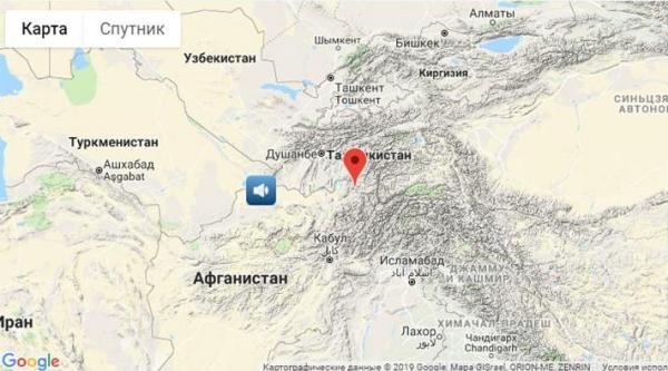 В Ташкенте и других городах страны отмечено слабое землетрясение