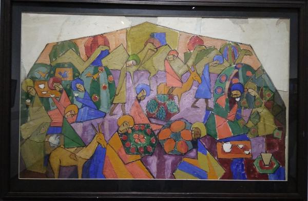 В Государственном музее искусств Узбекистана открылась выставка «Таинственный авангард»